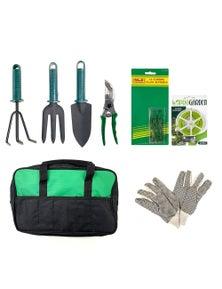 Gardening Kit Set w/ Carry Bag 8pc