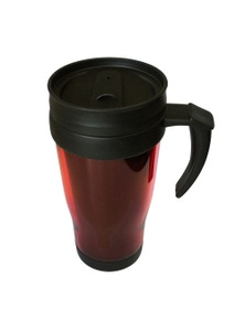 Plastic Travel Mug w/ Double Wall 450ml
