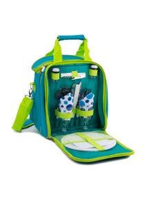 Mak1 2 Person Picnic Bag Set - Green
