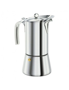 Euro Line Stainless Steel 6 Cup Espresso Maker