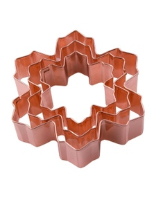 Dline Copper Plated Cooke Cutter Snowflakes