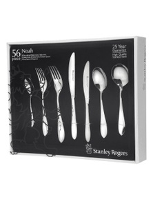 Stanley Rogers 56 Piece Stainless Steel Noah Cutlery Set