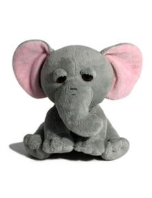 18cm Sitting Wild Animal - Elephant