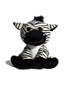 18cm Sitting Wild Animal - Zebra