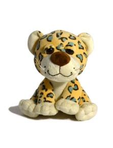 18cm Sitting Wild Animal - Cheetah