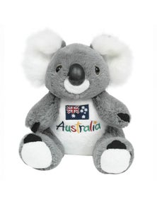 22cm Koala Plush w/ Embroidered Front