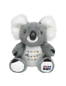 22cm Koala Plush w/ Embroidery - Cairns