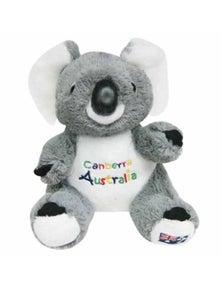 22cm Koala Plush w/ Embroidery - Canberra