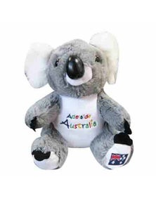 22cm Koala Plush w/ Embroidery - Adelaide