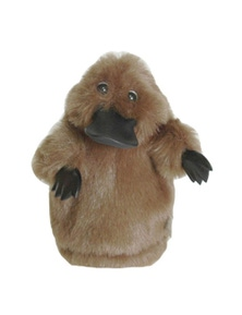 25cm Hand Puppet - Platypus