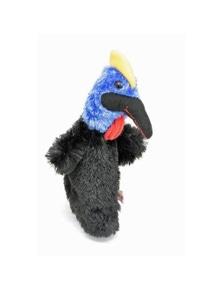 25cm Hand Puppet - Cassowary