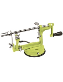 Avanti Apple Peeler, Corer And Slicer - Green