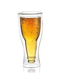 Avanti Beer Bottle Twin Wall Glass