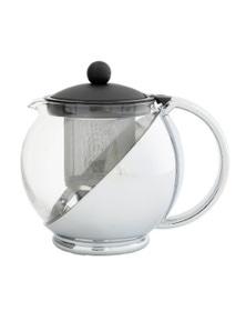 Avanti Multi Funtion Teapot 1.2L Black / Chrome