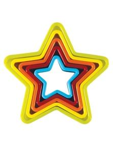 Avanti Star Cookie Cutters 5 Pce Set
