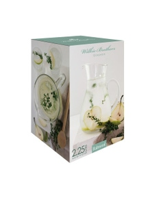 Wilkie Brothers Balmoral Glass Jug 2.25 Litres