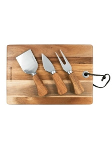 Peer Sorensen Rectangle Cheese Board W/ 3 Knives
