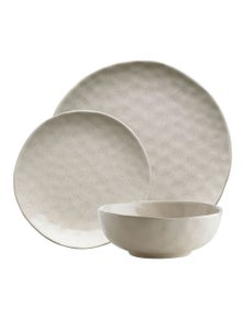 Ecology Speckle Dinner Set - Oatmeal 12Pc
