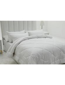 Benson Benson Luxury 500gsm Japara Cotton Cover Wool Blend Quilt