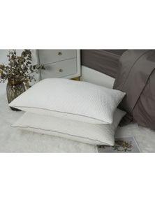 Benson Twin Pack Luxury Comfort Hybrid Pillow