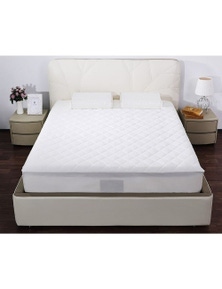Bonwin Homewares Quilted Cotton Covered Mattress Protector