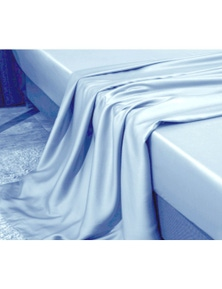 Benson 1000+ Pure Cotton Sateen Valance Bed Flat Sheets
