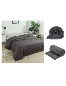 Benson Weighted Blanket Stress Relieving - Anthracite 150 x 200cm 7KG