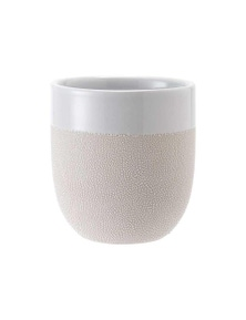 Ladelle Cafe Tumbler - Textured White