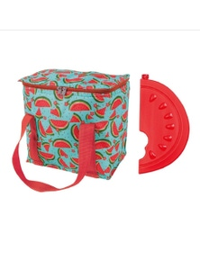 Porta 7L Cooler Bag and Ice Block Set Watermelon