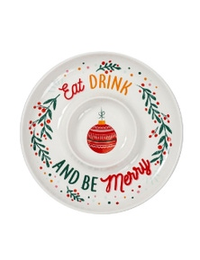 Ladelle Christmas Chip and Dip Platter