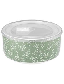 Ladelle Prep Microwave Food Bowl 16cm - Repose Green Flowers