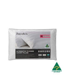 Dreamaker Australian Made Down Alternative Pillow Medium Profile