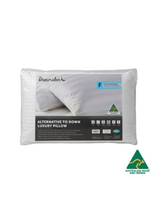 Dreamaker Australian Made Down Alternative Pillow Firm Profile