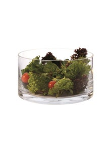 Maxwell & Williams Diamante Cylindrical Salad Bowl 22cm Gb