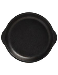 Maxwell & Williams Caviar Plate With Handle 20X22.5Cm Black
