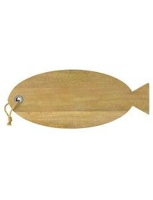 Maxwell & Williams Reef 58Cm Fish Shaped Mango Wood Serving Board