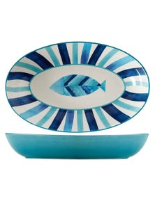 Maxwell & Williams Reef 42X26Cm Oval Serving Bowl