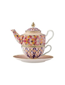Maxwell & Willams Teas & C's Kasbah Tea For 1 With Infuser 380ml Rose Gift Boxed