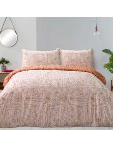 Fieldcrest 100% Cotton Reversible Quilt Cover Set