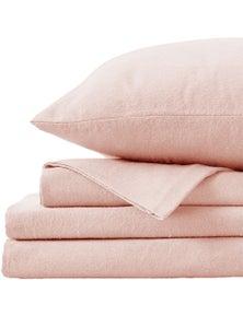 Fieldcrest 100% Brushed Cotton Flannel Sheet Set