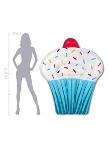Good Vibes Giant Cupcake Inflatable Float