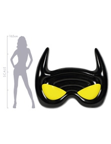 Good Vibes Bat Mask Air Lounge Inflatable Pool Toy