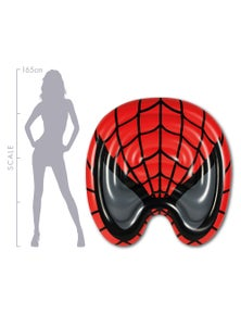 Good Vibes Spider Mask Air Lounge Inflatable Pool Toy