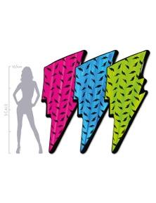 Good Vibes Bolt Neon Air Mat