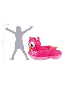 Good Vibes Giant Owl Inflatable Pool Toy