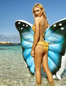Good Vibes Jumbo Butterfly Infatable Float