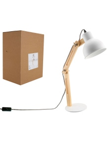 Luminite Table Lamp - Ella White