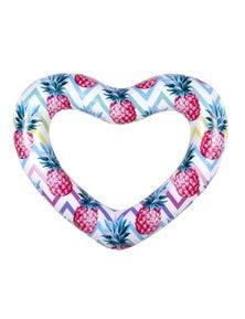 Good Vibes Giant Heart Swimring