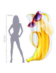 Good Vibes Kool Fruitz Banana-Rama Inflatable Floater