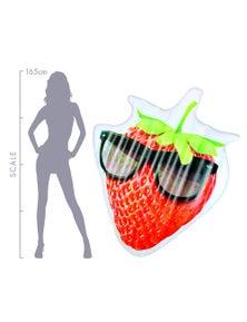 Good Vibes Kool Fruitz Strawberry Inflatable Floater